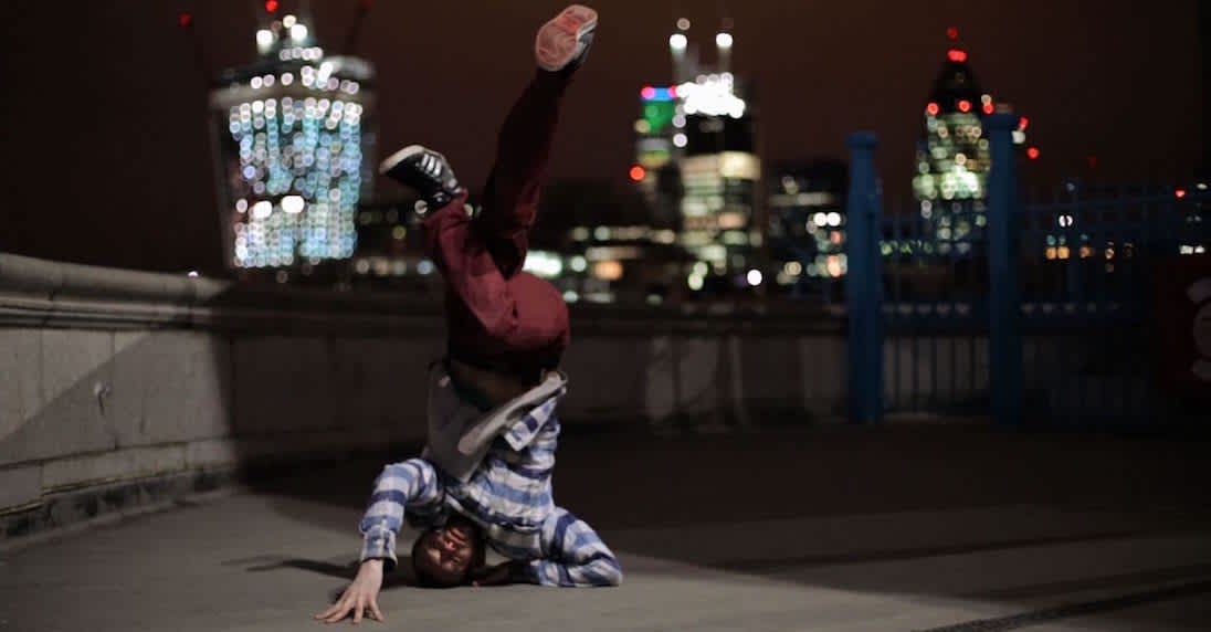 Video Photography of Bboy on Tower Bridge in London