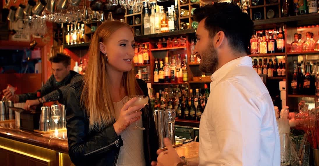 promotional video dating events club cocktail bar london new york